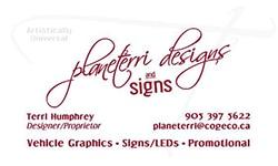 Planeterri Designs & Signs