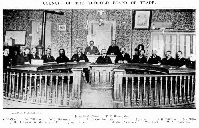 Thorold Board of Trade Historical Photo
